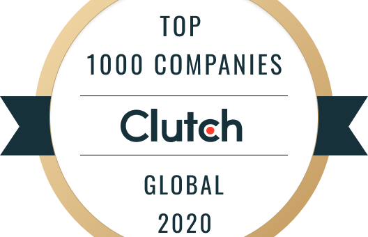 Clutch 2020 Top 100 Companies Global