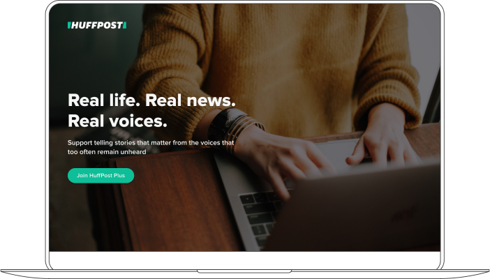 Huffpost: Real life. Real news. Real voices