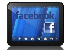 hp tablet facebook