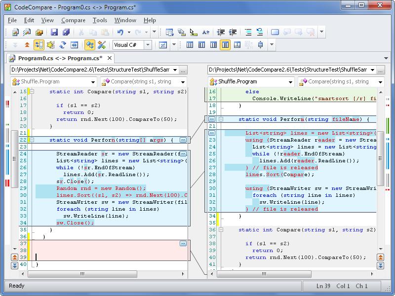 CodeCompare - Code Compare Tool №1