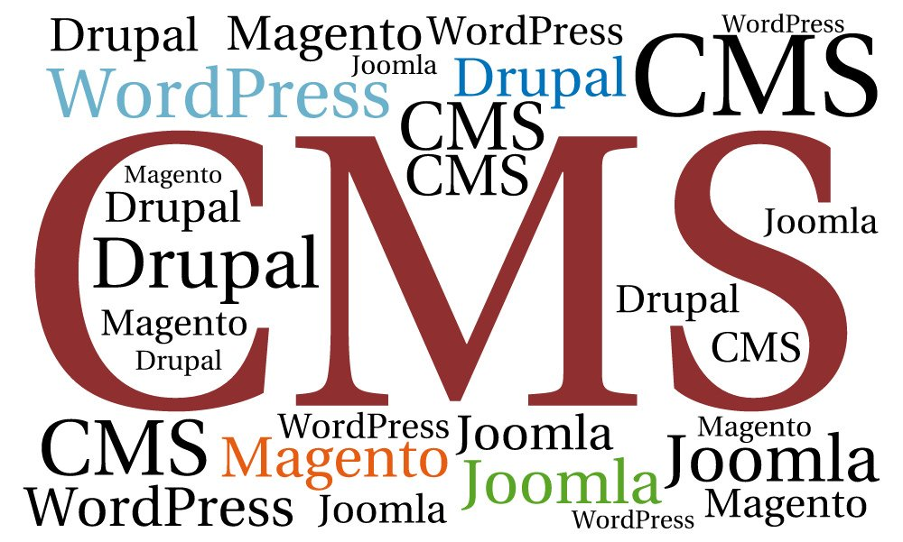 The most popular 5 CMS: choose the best one for creation of your website