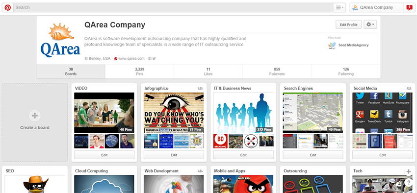 QArea Company on Pinterest