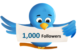 7 Tips To Get Your First 1000 Twitter Followers