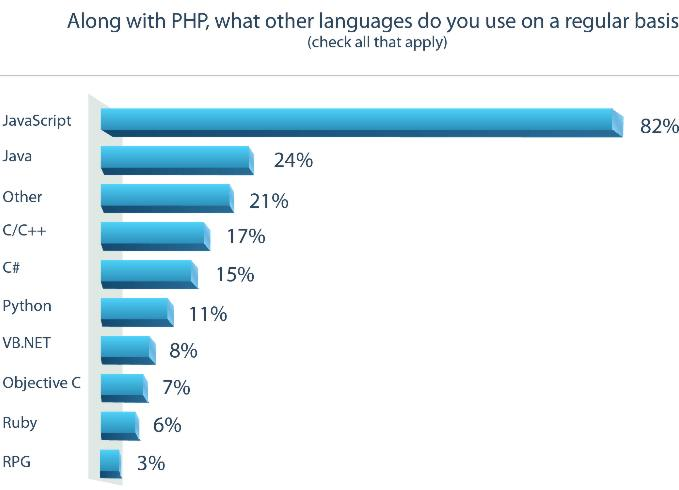 A short research about work and life of PHP developers