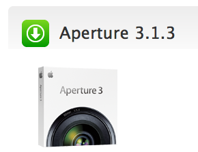 Apple releases the updated Aperture 3.1.3
