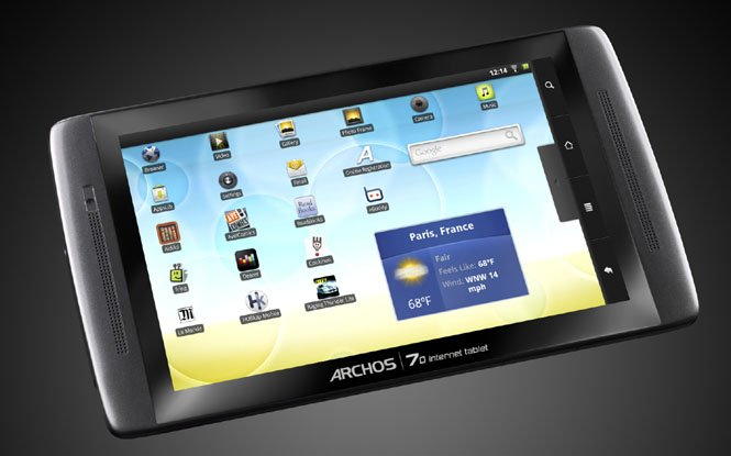 Archos presents $199 Android tablet