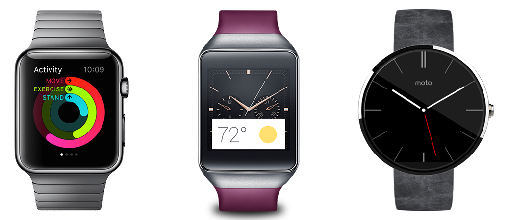 Apple Watch VS Samsung Gear VS Moto 360