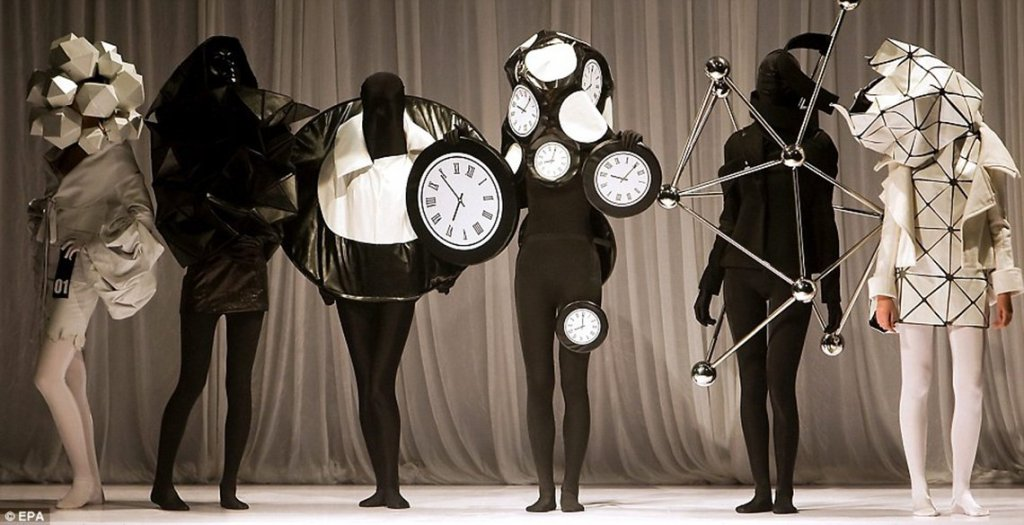 Fashion beyond passion. Technology taking over, aesthetics rising to the next level
