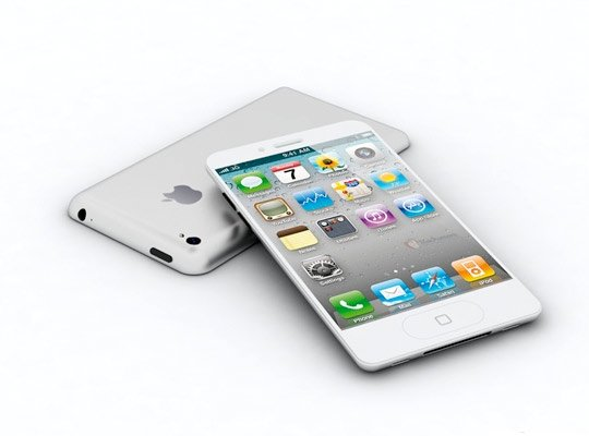 Vodafone Says iPhone 5 Coming 16GB and 32 GB in Black and White