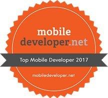 top mobile developer 2017