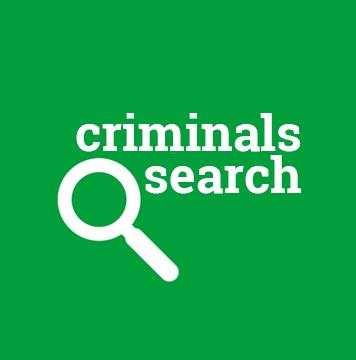 Criminals search