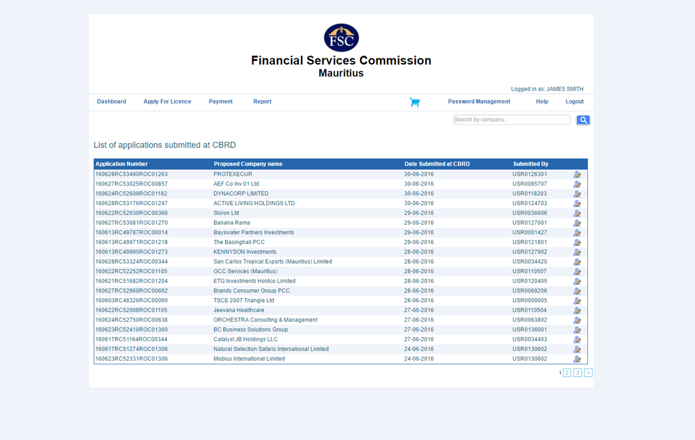 Financial Services Commission Mauritius 1