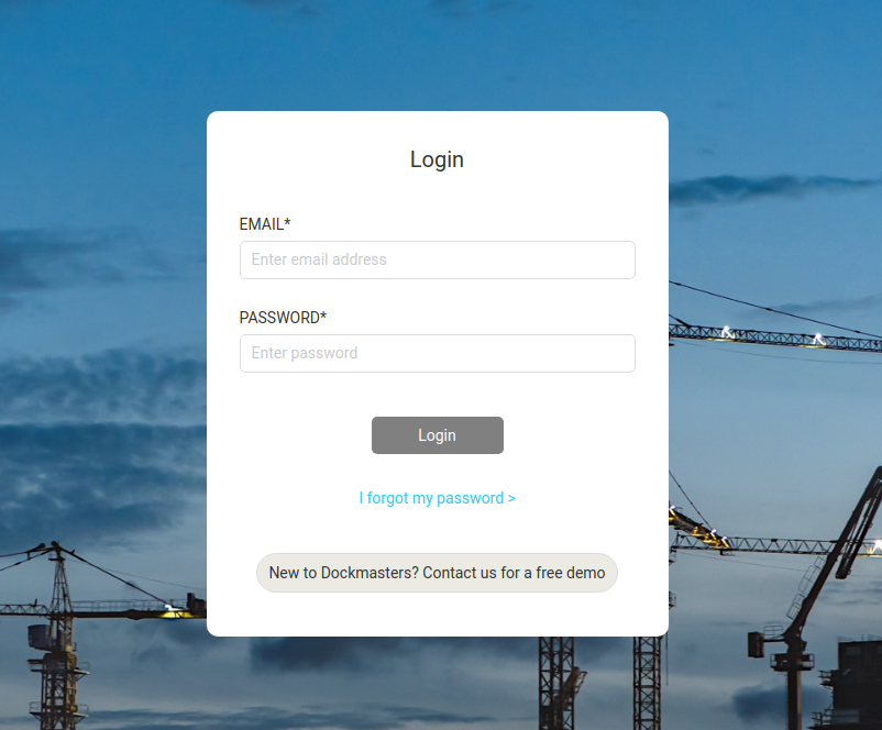 Dockmasters Construction Booking Solution 1