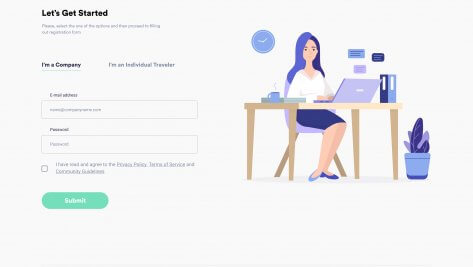 UI/UX Design For Online Travel Agency 4