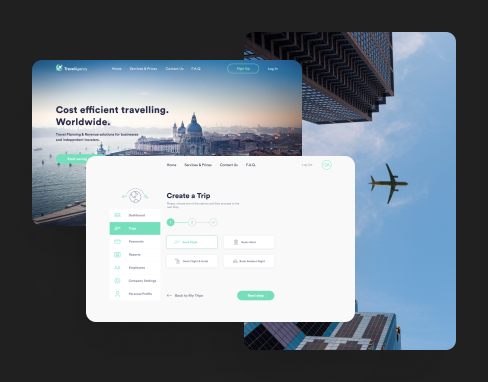 UI/UX Design For Online Travel Agency