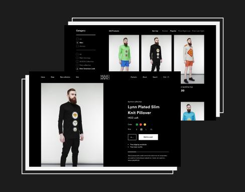 UX/UI Design for MAKI