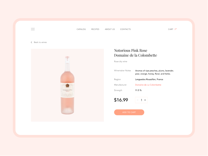 Online Store Design for an Organic Meat Farm 3