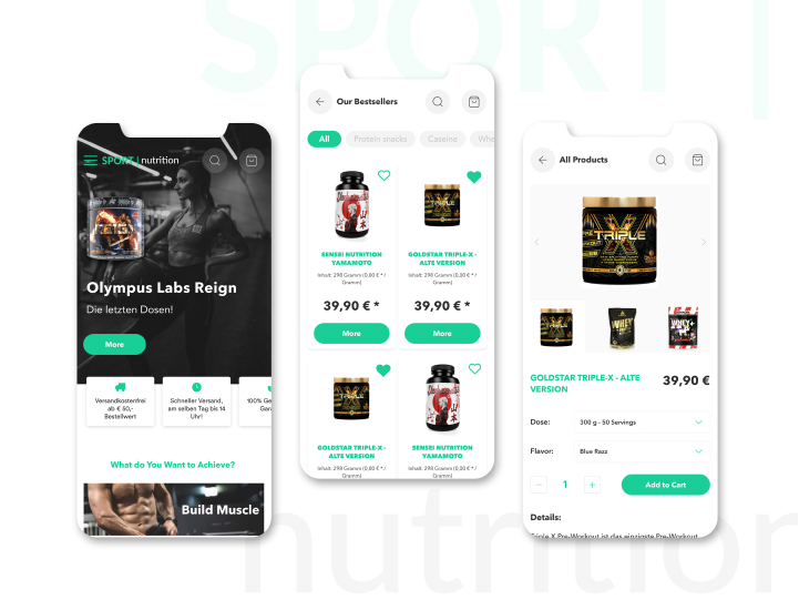 Mobile-friendly design for online store 2