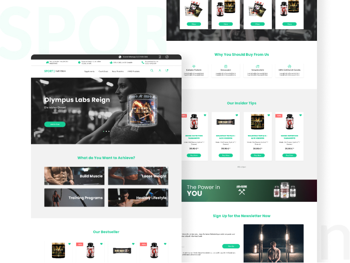 Mobile-friendly design for online store 3