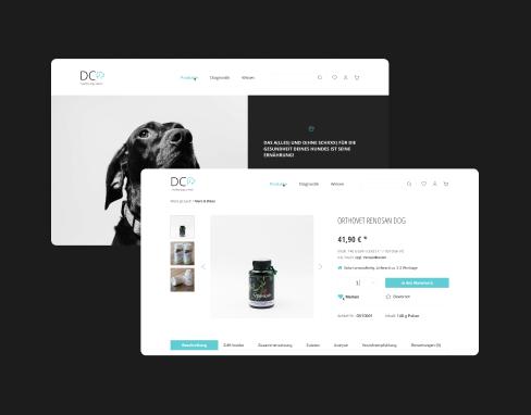 Website Redesign for a Dog Health Center