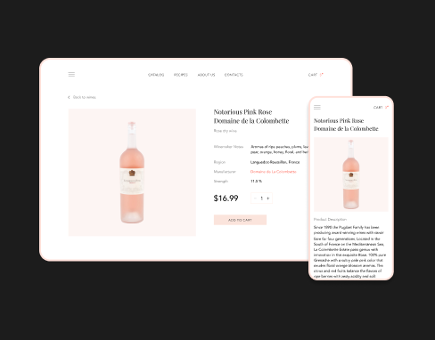 Online Store Design for an Organic Meat Farm