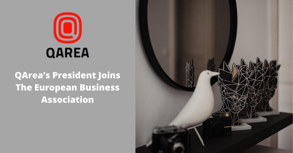 QArea's President Joins The European Business Association