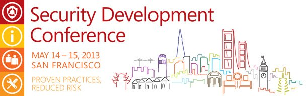 Security Development Conference 2013, San Francisco